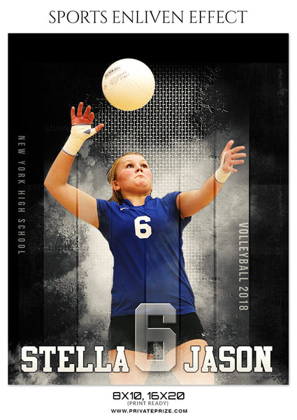 STELLA JASON-VOLLEYBALL - SPORTS ENLIVEN EFFECT