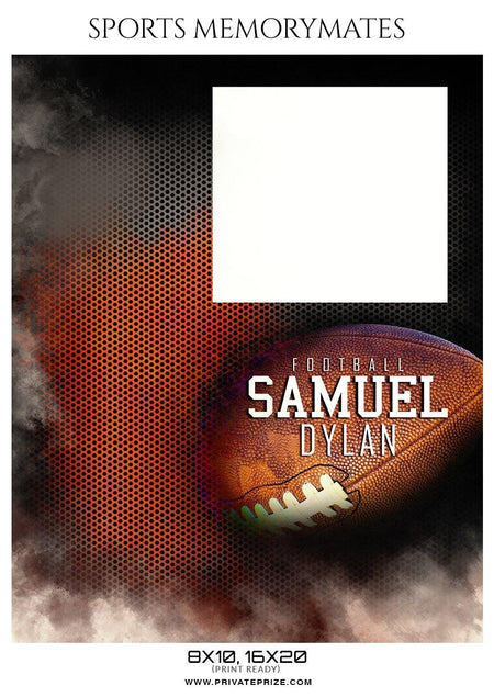 Samuel Dylan - Football Memory Mate Photoshop Template