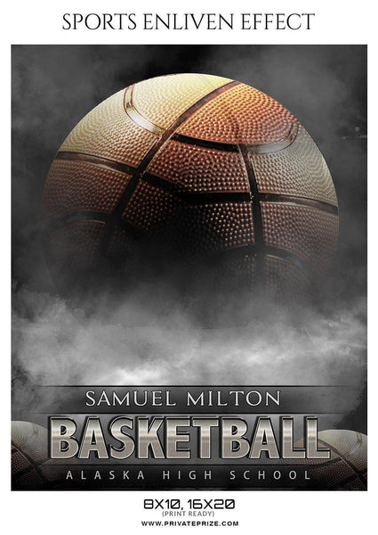 Samuel Milton - Basketball Sports Enliven Effect Photography Template