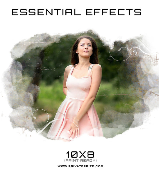 Essential Effects - Simploframe - Photography Photoshop Templates