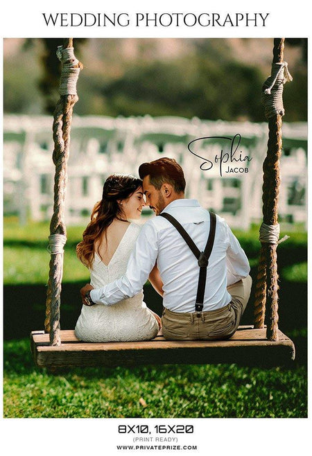 Sophia Jacob -  Wedding photography template