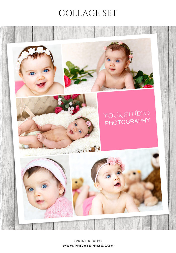 Baby photo collage template story board baby photo collage template story board photography photoshop templates maxwellsz