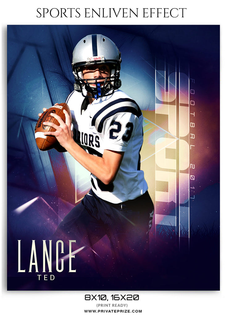 lance ted football sports photography enliven effects