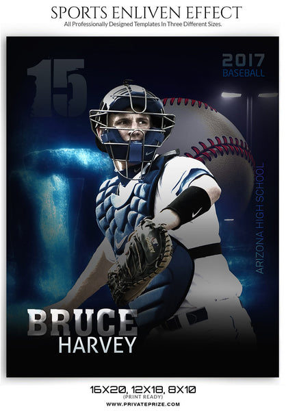 Bruce Harvey Football Enliven Effect - Photography Photoshop Templates