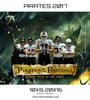 Pirates of The Football - Winning Tales Themed Sports Template - Photography Photoshop Template