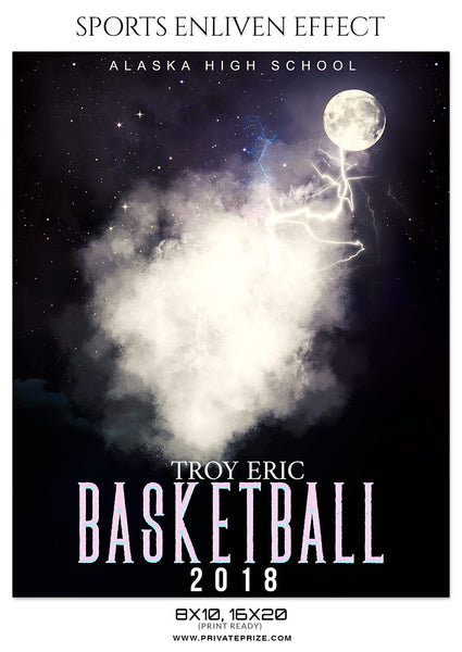 TROY ERIC BASKETBALL- SPORTS ENLIVEN EFFECT