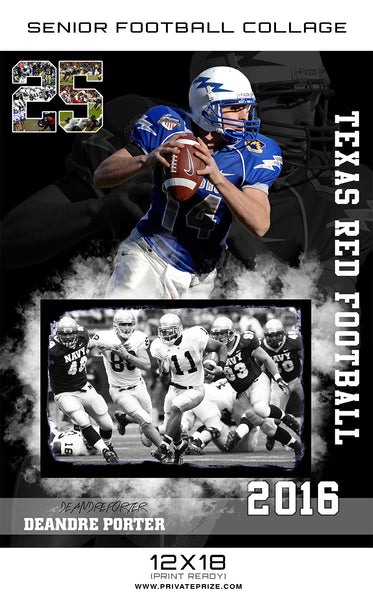 Texas Red Sports - Enliven Effects - Photography Photoshop Templates
