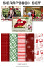Christmas Collection - Scrapbook Kit -Christmas Love - Photography Photoshop Template