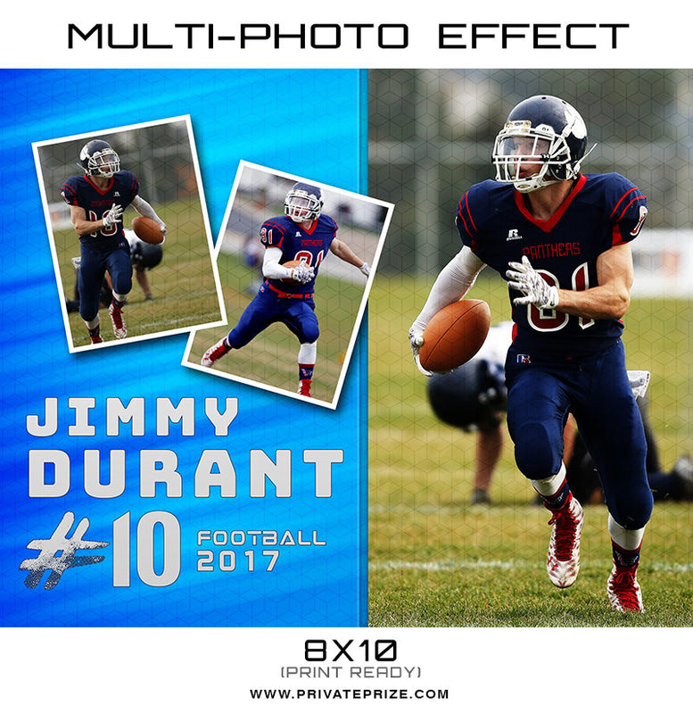 Jimmy Multi Photo Effect Card Template - Photography Photoshop Template