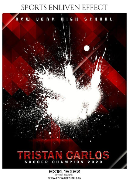 Tristan Carlos - Soccer Sports Enliven Effects Photography Template