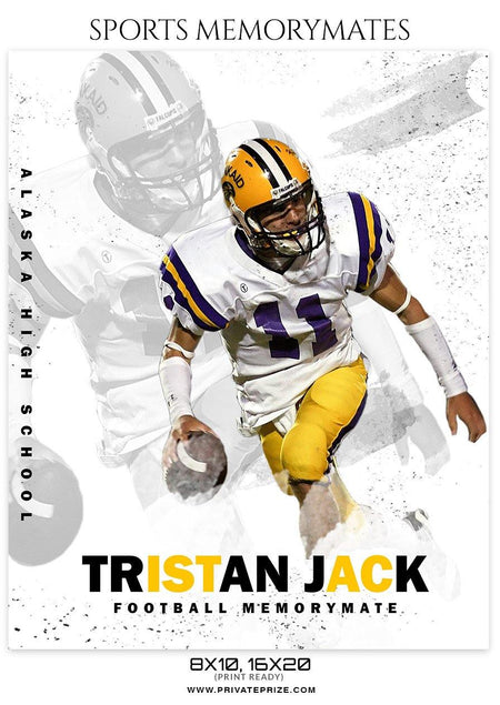 Tristan jack - Football Memory Mate Photoshop Template