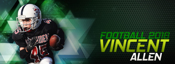 VINCENT ALLEN-SPORTS-FACEBOOK TIMELINE COVER - Photography Photoshop Template