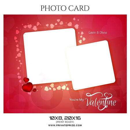 Valentine - Photo Card