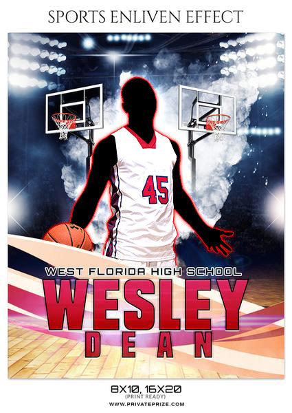 WESLEY DEAN BASKETBALL- SPORTS ENLIVEN EFFECT