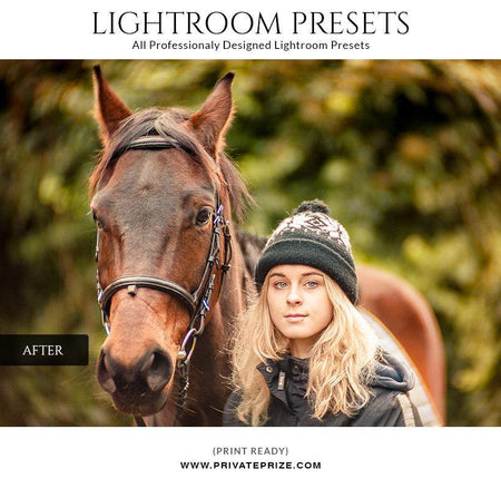 Day light effect - LightRoom Presets Set - Photography Photoshop Template
