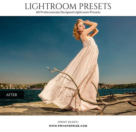 Warm color tone - LightRoom Presets Set - Photography Photoshop Template