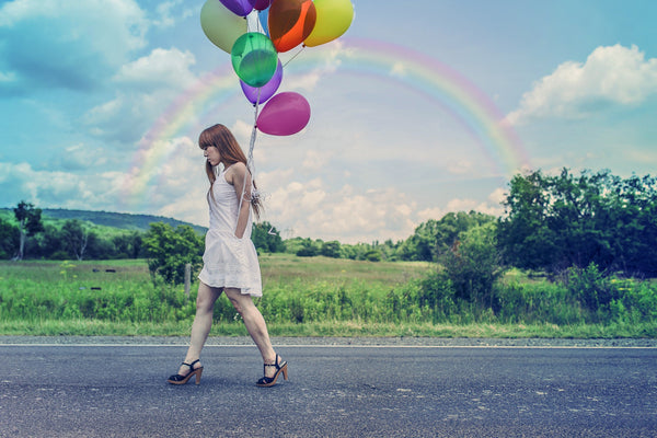 Rainbow Effect - Photography Photoshop Template