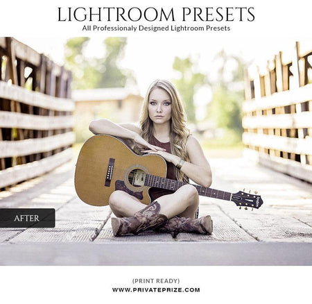 Elegant colorful - LightRoom Presets Set - Photography Photoshop Template