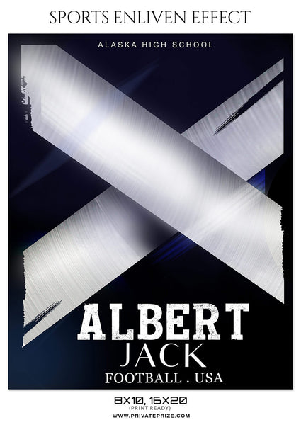 ALBERT JACK - FOOTBALL SPORTS PHOTOGRAPHY - Photography Photoshop Template