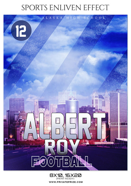 ALBERT ROY - FOOTBALL SPORTS PHOTOGRAPHY - Photography Photoshop Template