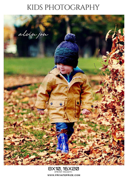 Alvin Jon Kids Photography Photoshop templates