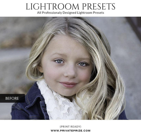Beauty Effect - LightRoom Presets Set - Photography Photoshop Template