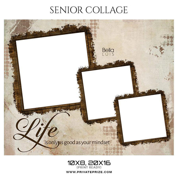 Bella luis - Senior Collage Photography Template