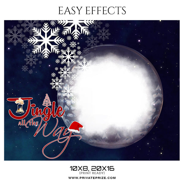 Christmas Easy Effects - Photography Photoshop Template
