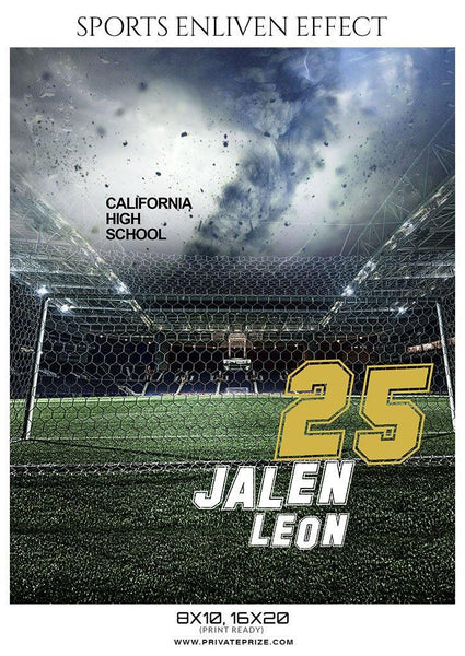 Jalen Leon - Football Sports Enliven Effect Photography Template