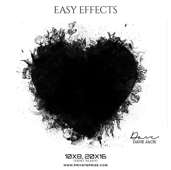 Dave Jack Kids - Easy Effects - Photography Photoshop Template