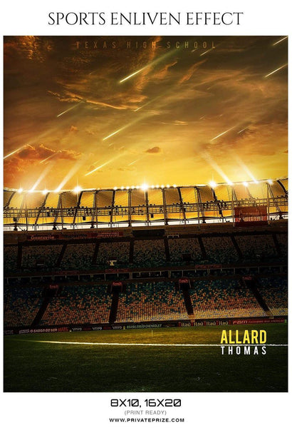 Allard Thomas - Football Sports Enliven Effects Photography Template