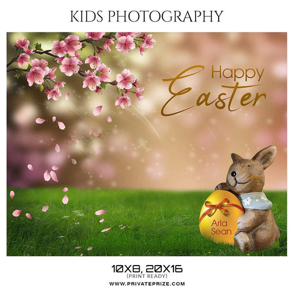 Arla Sean - Kids Photography Photoshop Templates - Photography Photoshop Template