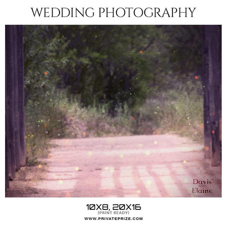 Davis and Elaine - Wedding Photography - Photography Photoshop Template