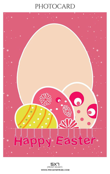 Easter photo card templates
