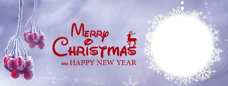 Merry Christmas Facebook Timeline Cover - Photography Photoshop Template