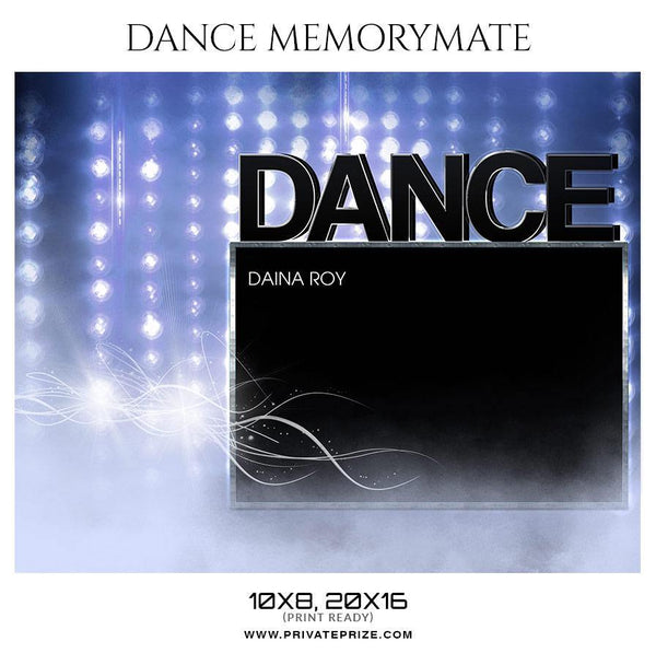 Daina Roy - Dance Memorymate Photography Templates
