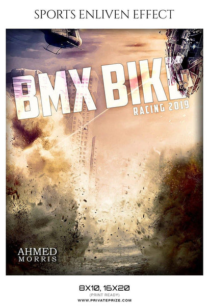 Ahmed Morris - Bmx Bike Sports Enliven Effect Photography Templates