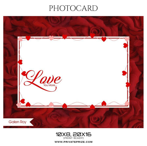 Galen Roy - Photocard Templates - Photography Photoshop Template