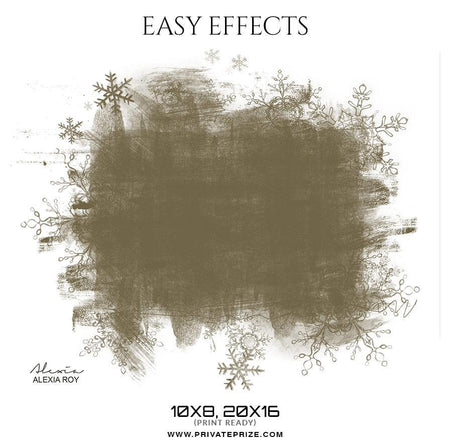 Alexia Roy - Easy Effects - Photography Photoshop Template