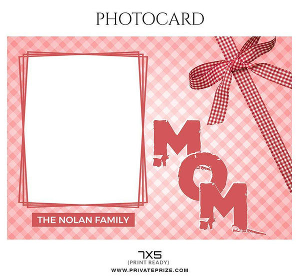 The Nolan Family - Photo card