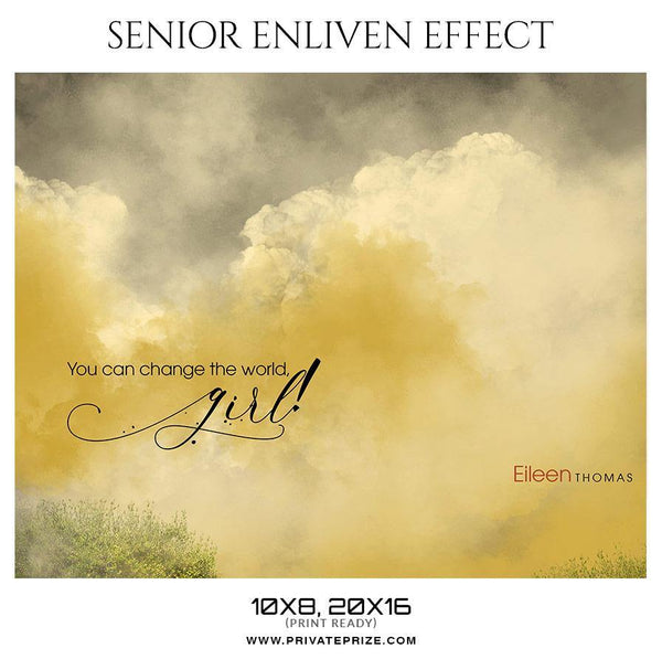 Eileen Thomas - Senior Enliven Effect Photography Template
