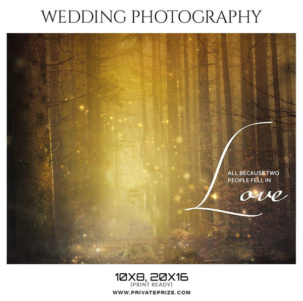 Wedding Photography photoshop templates