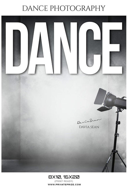 Davia Sean - Dance Photography - Photography Photoshop Template