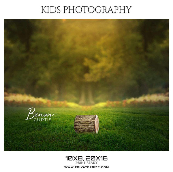 Benon Curtis - Kids Photography Photoshop Templates
