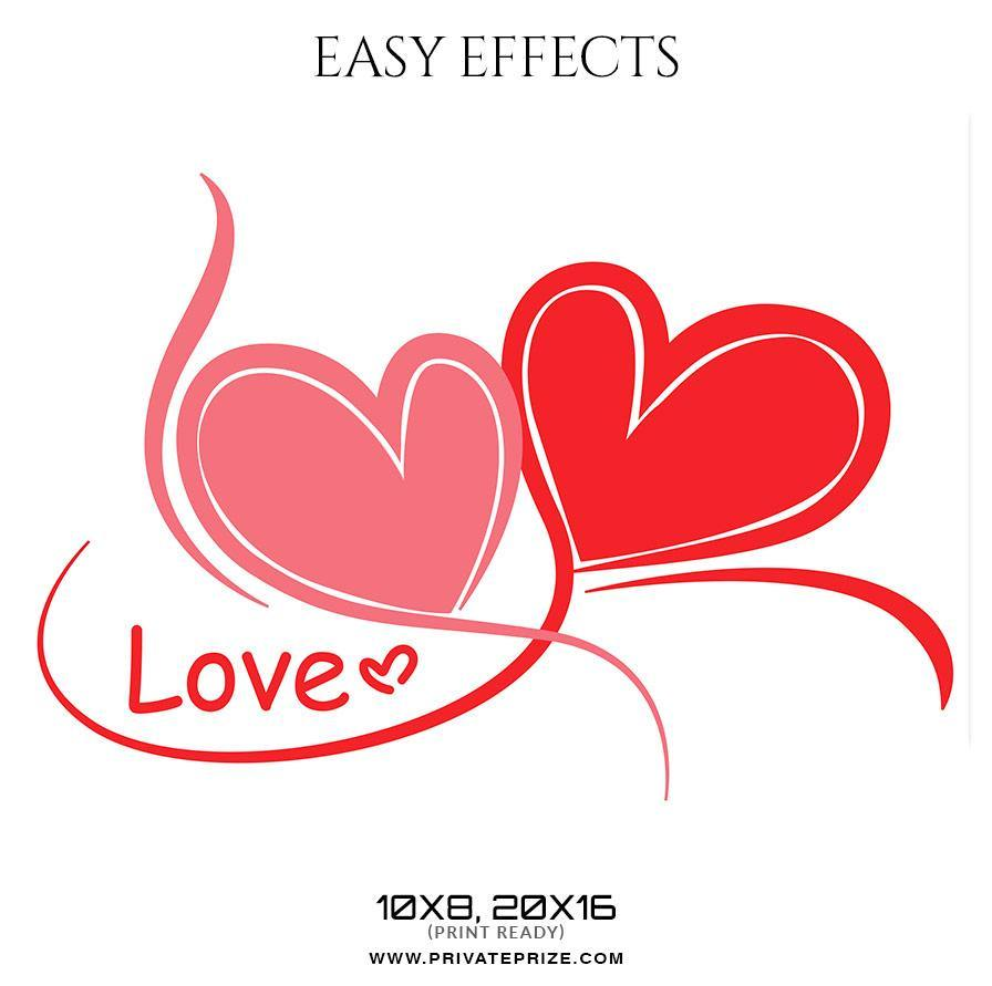 love - Valentine\'s Easy Effects Templates