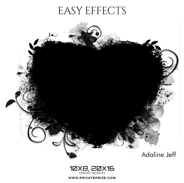 Adaline Jeff - Easy Effects - Photography Photoshop Template