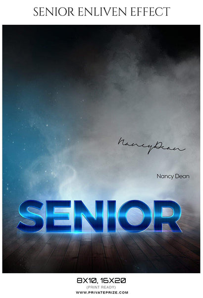 Nancy Dean - Senior Enliven Effect Photography Template