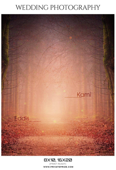 Kami and Eddis - Wedding Photography - Photography Photoshop Template