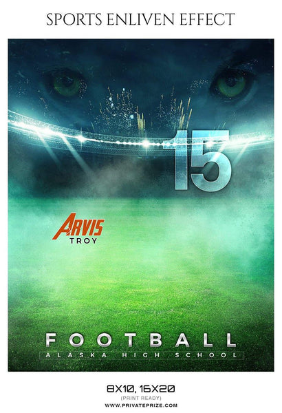 Arvis Troy - Football Sports Enliven Effect Photography Template
