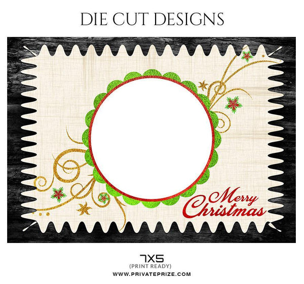 Die Cut Design - Photography Photoshop Template
